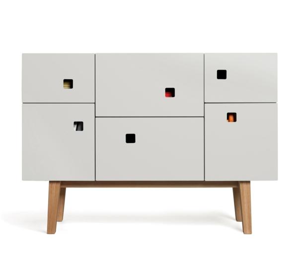 schwedisches Möbel - cooler schrank und weißer hintergrund