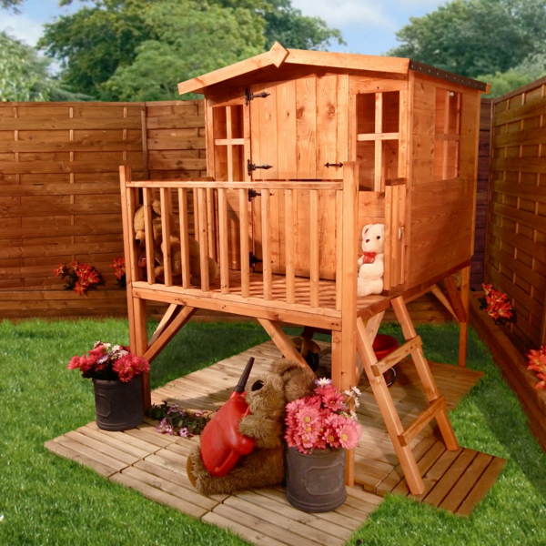 Inspiration-Playhouse-Garden-Design-With-Mini-Home