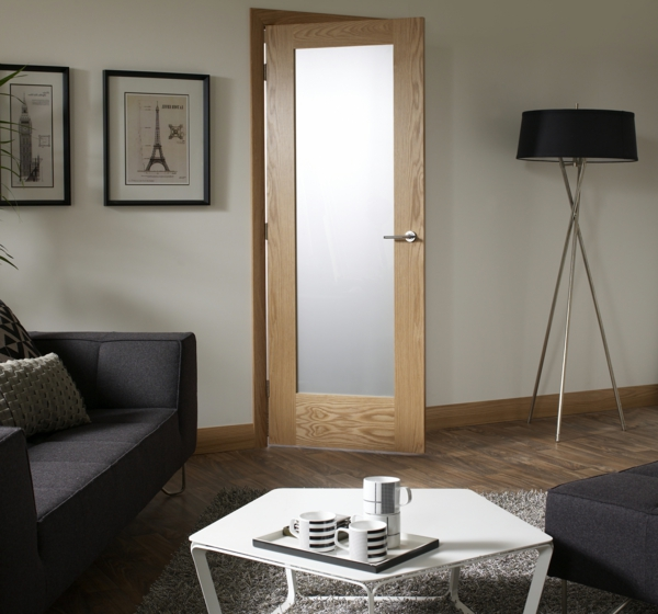 glast ren f r innen modern und elegant. Black Bedroom Furniture Sets. Home Design Ideas