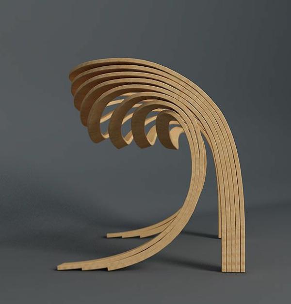 Stuhl design erstaunliche neue ideen for Designer holzstuhl