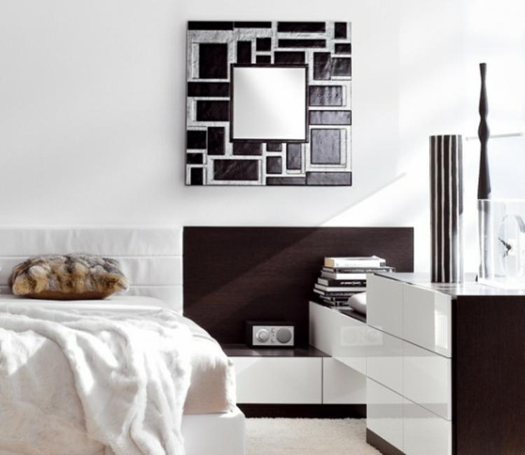 Deko mit spiegel zauberhafte impressionen for Raumgestaltung quadratischer raum