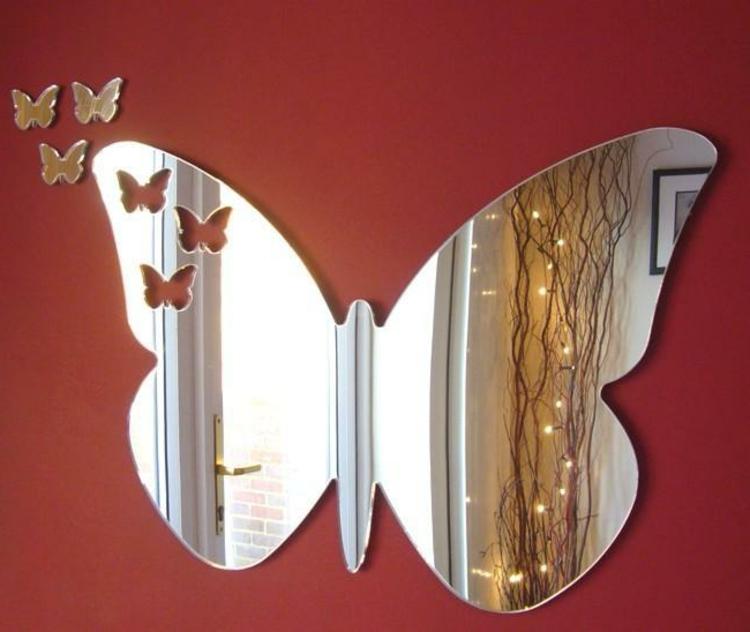 schmetterling-spiegel-form-edel-schick-modern-neu-glas-wand-dekoration