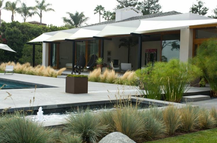 GroBartig Gartengestaltung Mit Steinen Und Grusern Modern Foyer On Mit, Wohnzimmer  Design