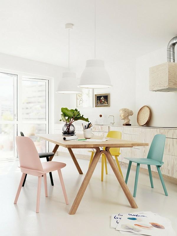schwedisches Möbel - helles zimmer gestalten
