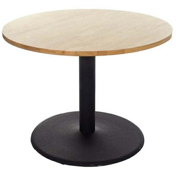 Runder Tisch - mit hölzerner struktur