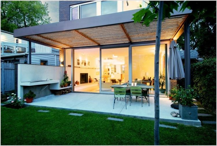 Pergola Dach die herausragendsten Designideen - Archzine.net
