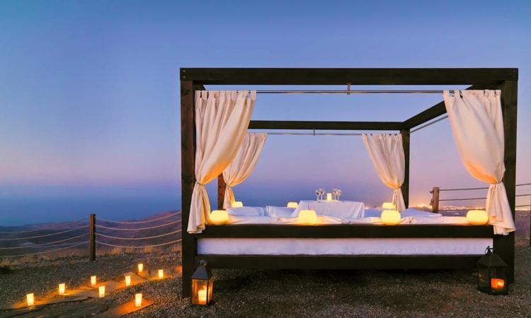 Himmelbett Für Draußen ? Einen Romantischen Outdoor-bereich ... Himmelbetten Fur Draussen