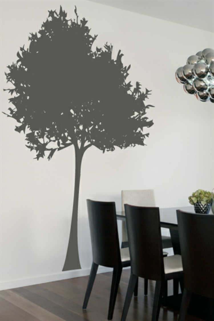 wandtattoo als baum die sch nsten besispiele. Black Bedroom Furniture Sets. Home Design Ideas