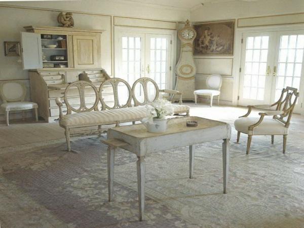 schwedisches Möbel - aristokratisches wohnzimmer