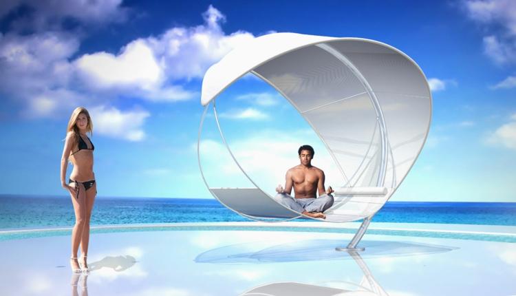 hänge-liege-weiß-edel-schick-modern-am-strand-stylisch-designer-entspannen-yoga