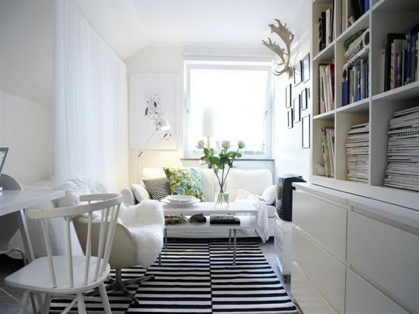schwedisches Möbel - weiß und schön aussehen