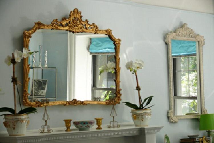 spiegel-wand-gold-rahmen-schick-edel-modern-antik-besondere-formen-entzückend