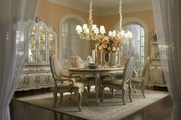 esszimmerset - aristokratische möbelstücke