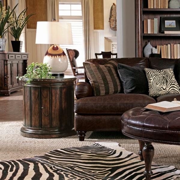 Kissen bedrucken - im gemütlichen wohnzimmer