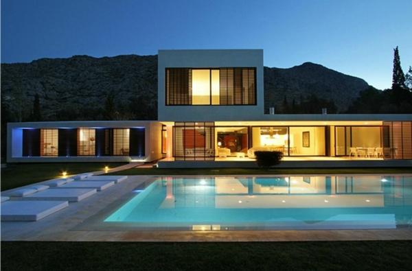 Traumhaus modern mit pool  Luxushaus Modern ~ Alles Bild für Ihr Haus Design Ideen