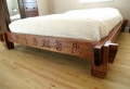 Asiatische Betten sehen herrlich aus!