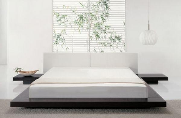 asiatische-betten-inspirierendes-modell-in-weißer-farbe- ein sehr schönes und cooles bild