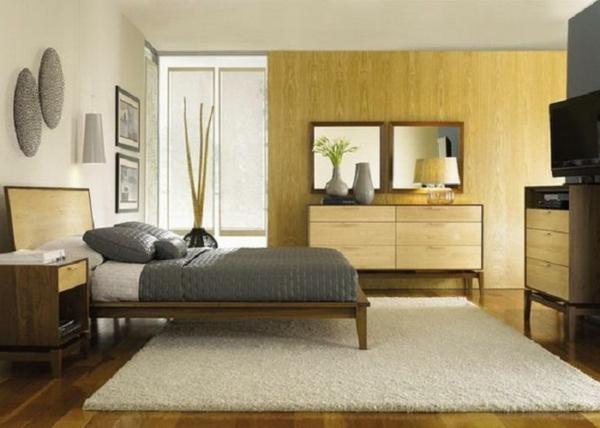 asiatische-betten-schönes-modell-im-gemütlichen-schlafzimmer- ein sehr schönes und cooles bild