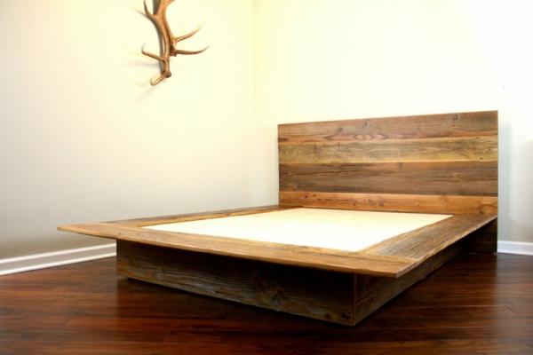 Modernes Designer Doppelbett Holz Designer Betten Holz Rheumri Com ...