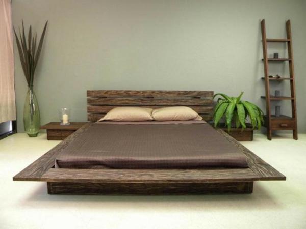 asiatische betten sehen herrlich aus. Black Bedroom Furniture Sets. Home Design Ideas