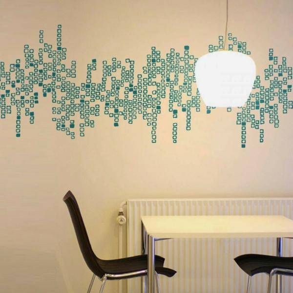 Erstaunlich Wandtattoo Im Esszimmer? Eine Richtig Tolle Idee! | Wandgestaltung ...