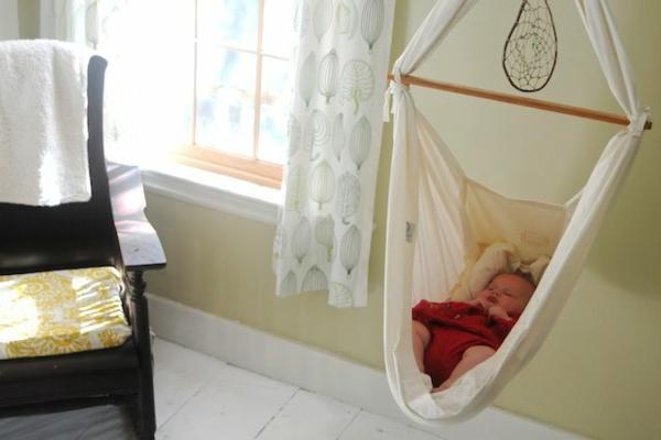 baby-schaukel-mit-super-schönem-design-wohnideen-hängematte