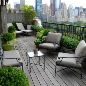 Bodenbelag für Balkon - 20 tolle Beispiele
