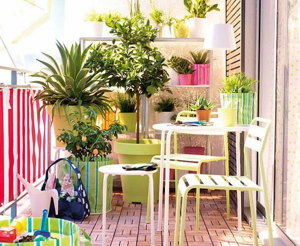 Idee De Decoration Florale Pour Un Patio