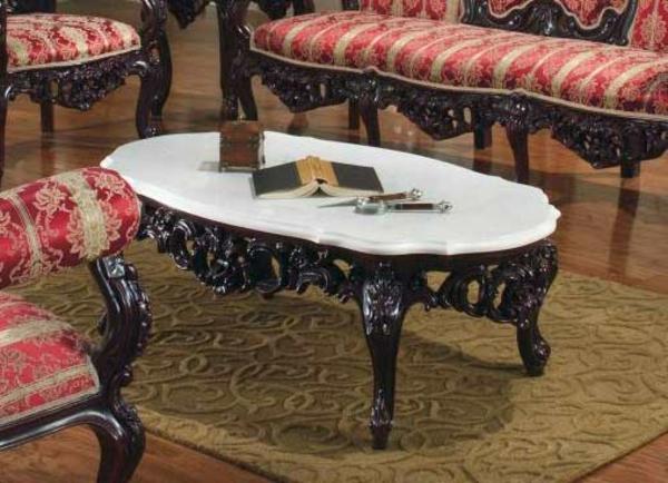 barocktisch - schönes modell im wohnzimmer