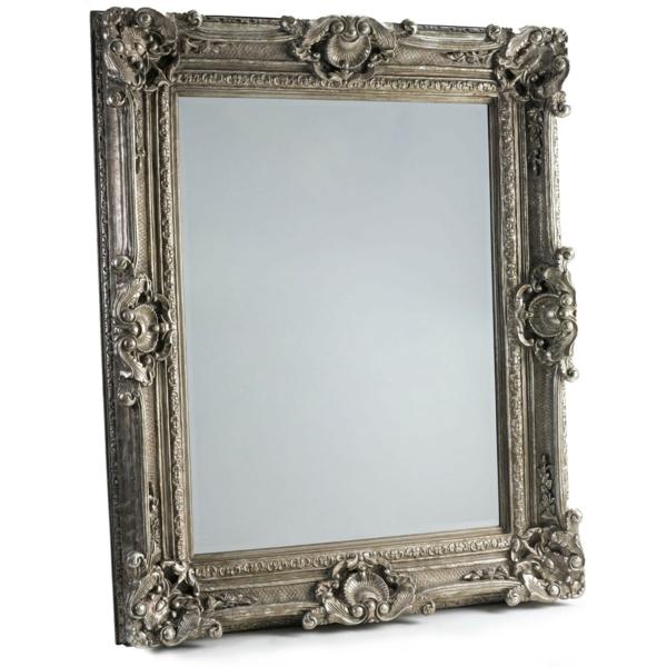 barockspiegel - großes modell mit eckiger form