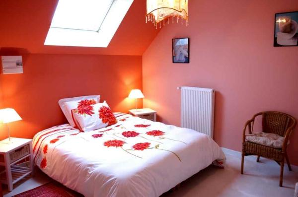 romantischeliebe inspiration - romantisches schlafzimmer in einer dachwohnung