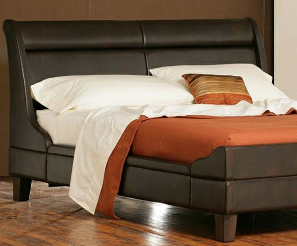 moderne und schicke betten in braun. Black Bedroom Furniture Sets. Home Design Ideas