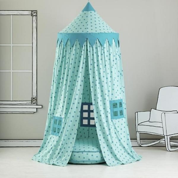 blaue-kinderzelt-kaufen-moderne-ideen-zur-einrichtung-innendesign