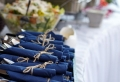 Tischdeko in Blau – faszinierende Ideen!