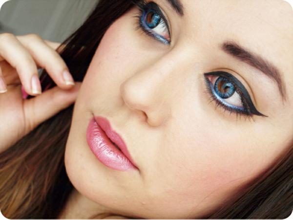 Bunte Kontaktlinsen - sehr interessant aussehen