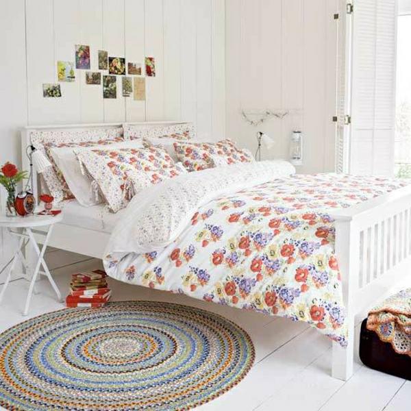 Schlafzimmer Mit Vielen Pflanzen: Bett Im Landhausstil: Coole Vorschläge