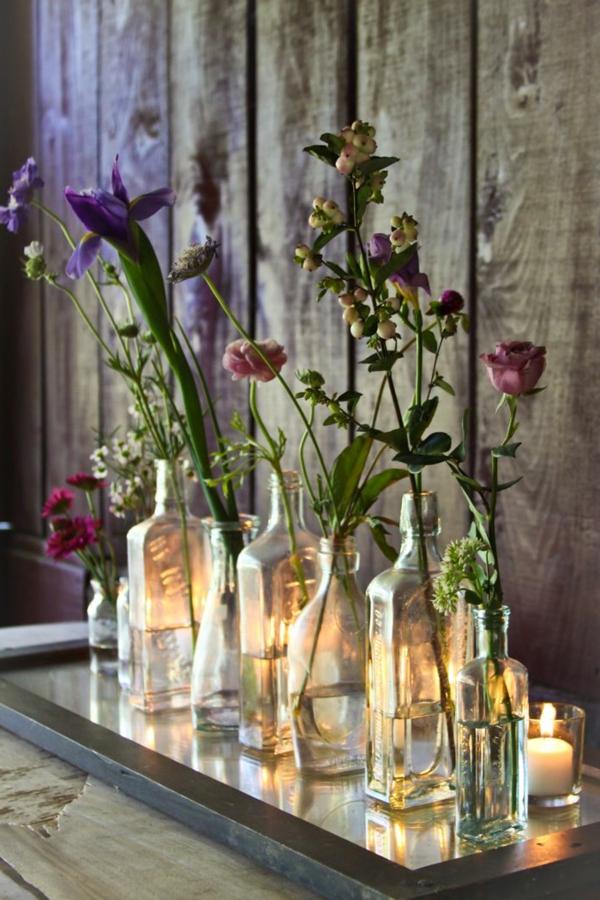 Hochzeitskerzen Romantische Warme Licht For Vintage Tischdeko Hochzeit