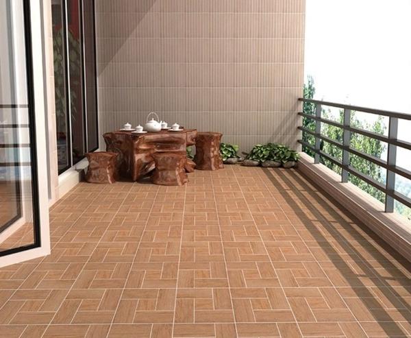 braune-fliesen-für-den-balkon-balkon-einrichten-wohnideen