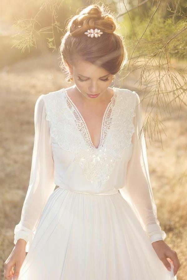 61 Atemberaubende Brautkleider Im Vintage Stil Archzine Net