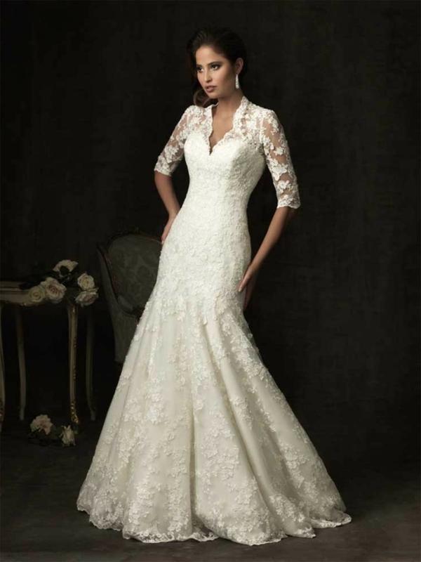 Ausgezeichnet Vintage Brautkleider Für ältere Bräute Bilder ...