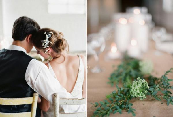 romantischeliebe inspiration - zwei bilder von hochzeit