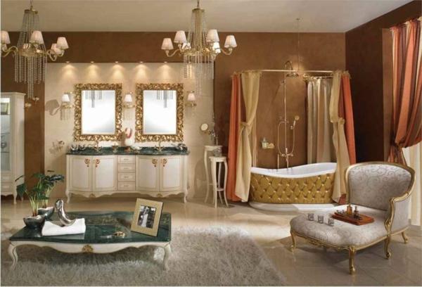 romantischeliebe inspiration - aristokratisches badezimmer
