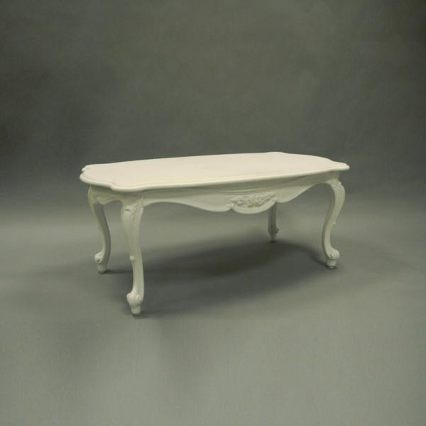 barock tisch - einfache schöne weiße gestaltung
