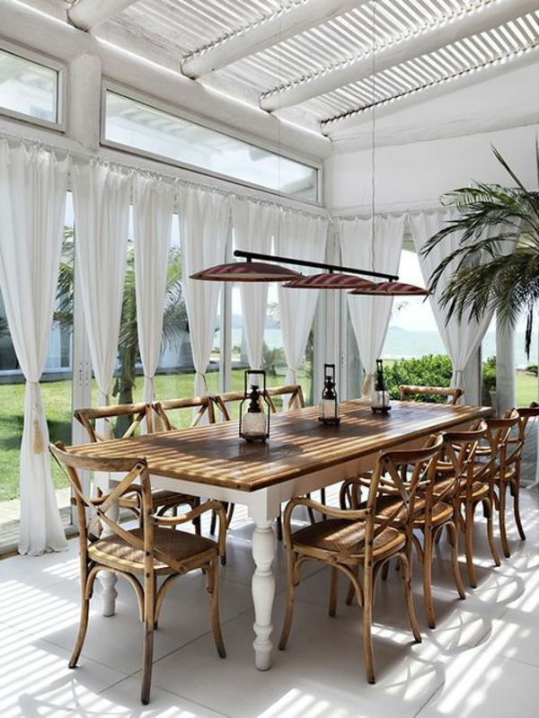 coole-esszimmermöbel- einrichtungsideen-für-das-esszimmer-