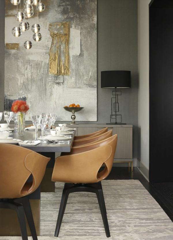 coole-esszimmermöbel- einrichtungsideen-für-das-esszimmer---
