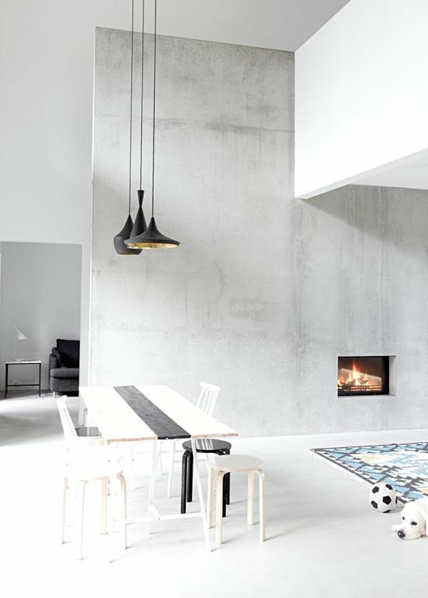 coole-esszimmermöbel- einrichtungsideen-für-das-esszimmer