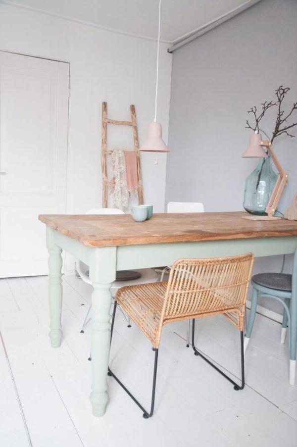 -coole-esszimmermöbel-im-vintage-stil-einrichtungsideen-für-das-esszimmer-