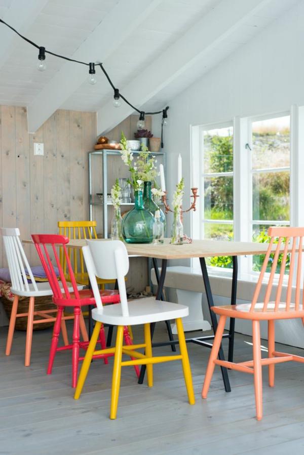 -coole-esszimmermöbel-im-vintage-stil-einrichtungsideen-für-das-esszimmer