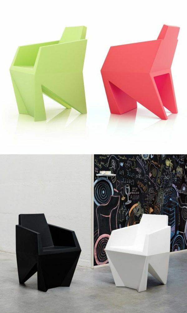 coole-farbige-designer-stühle-plastik
