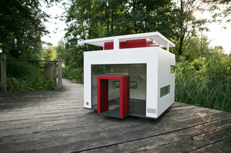 hundehaus die skurrilsten beispiele die es gibt. Black Bedroom Furniture Sets. Home Design Ideas